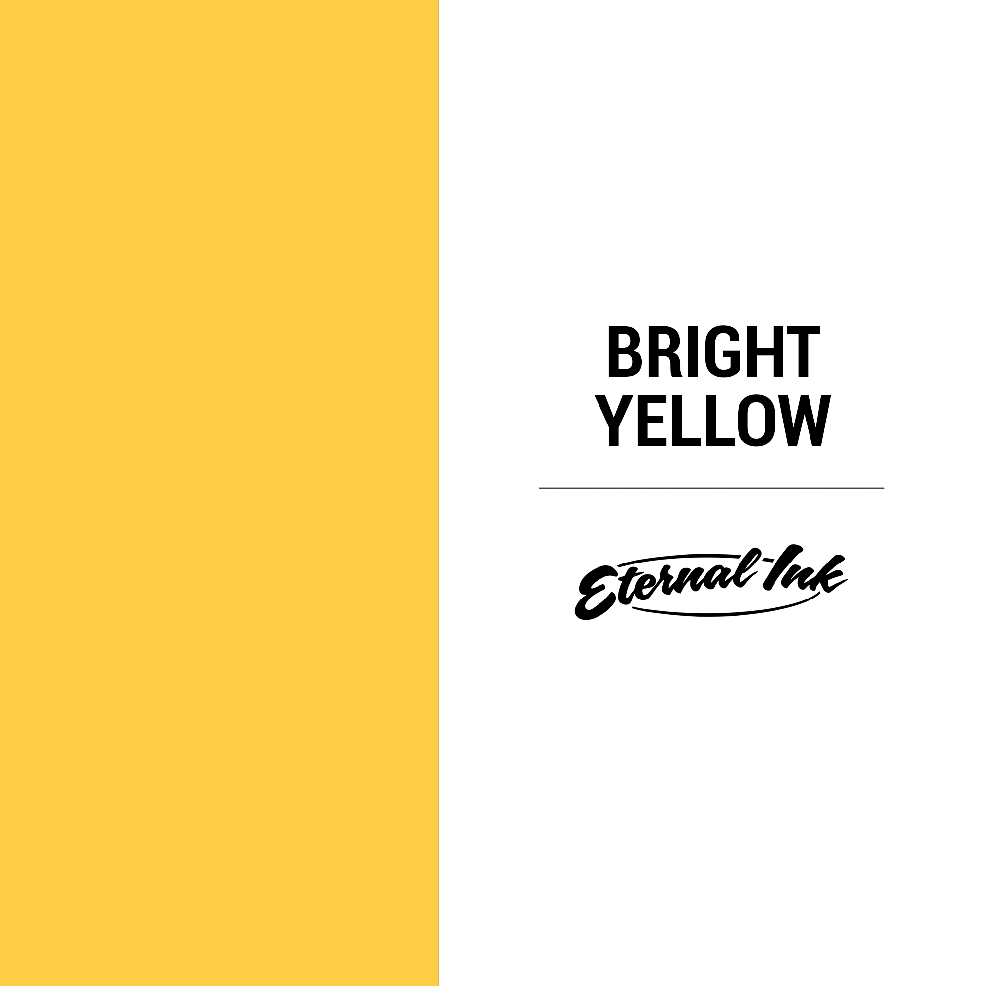 Eternal Ink Bright Yellow