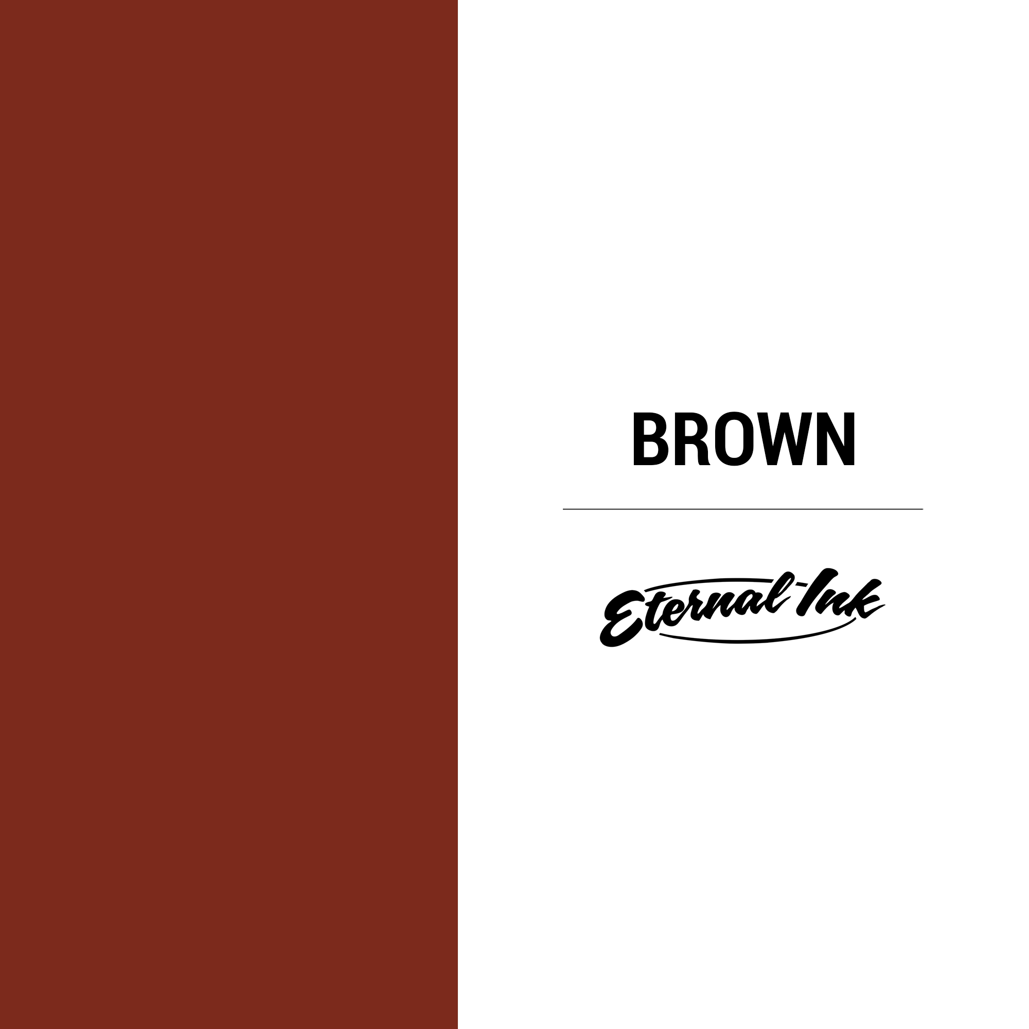 Eternal Ink Brown