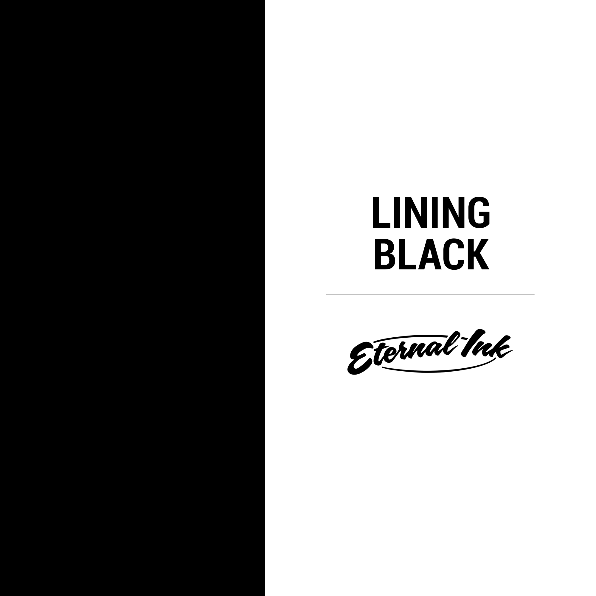Eternal Ink Lining Black