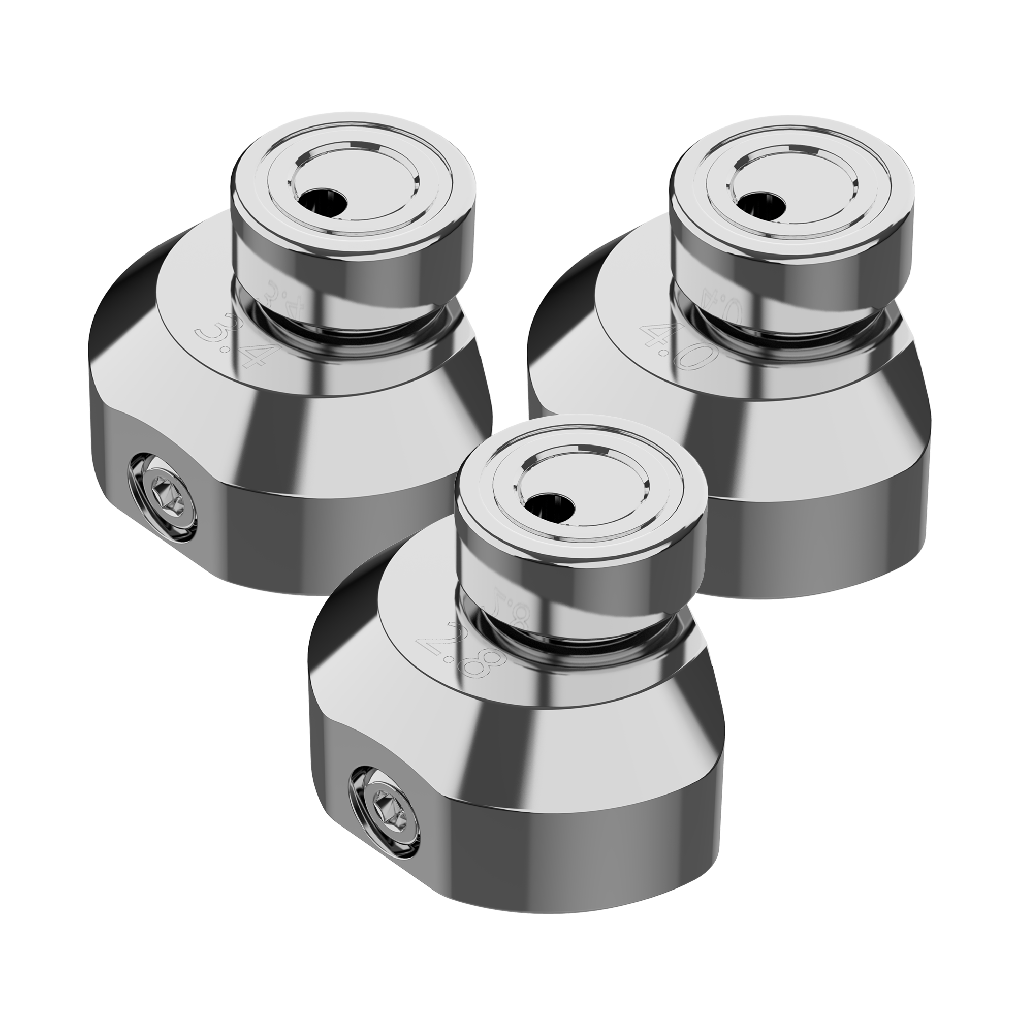 Halo 2 Stroke Wheel Kit - 3 Pack