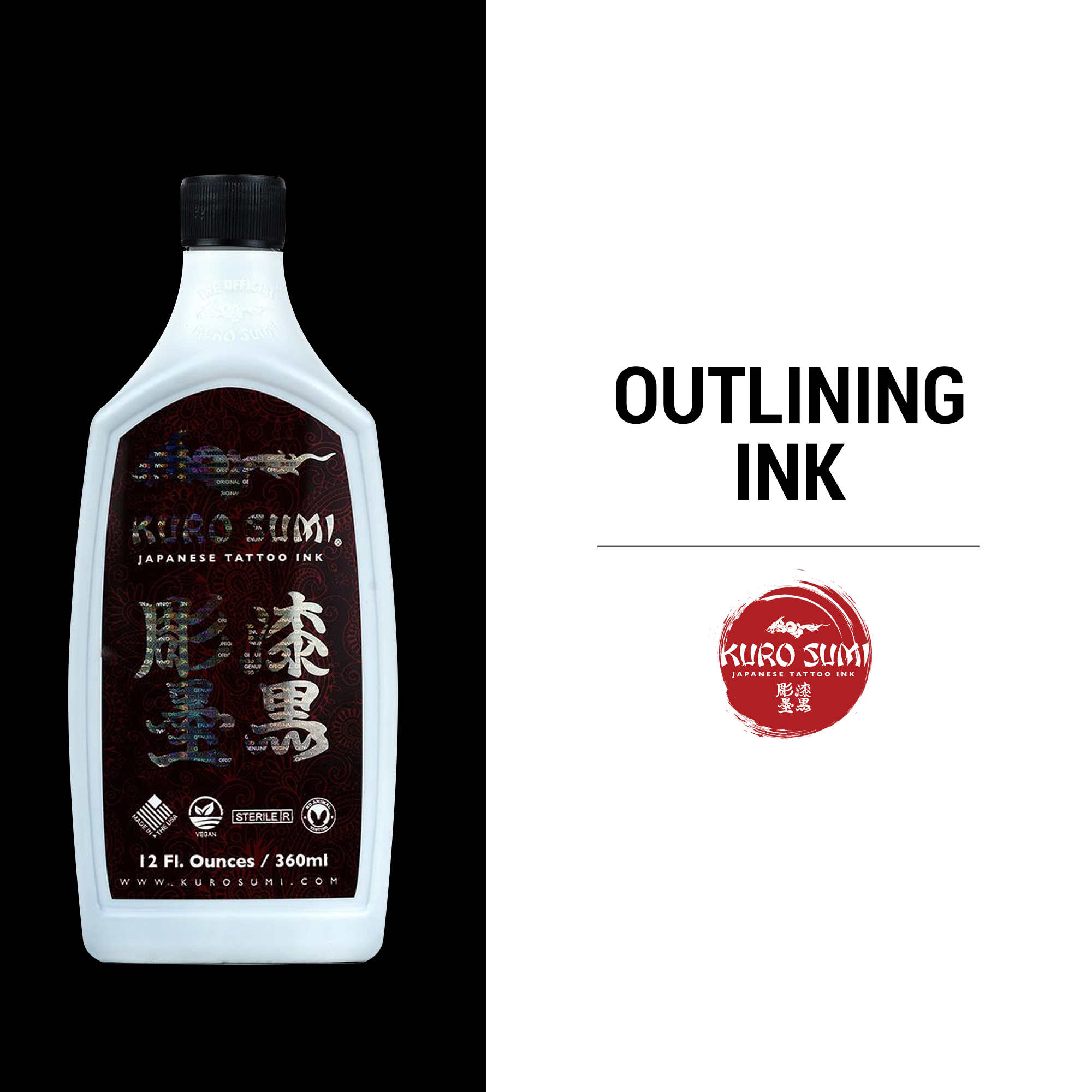 Kuro Sumi Outlining Ink