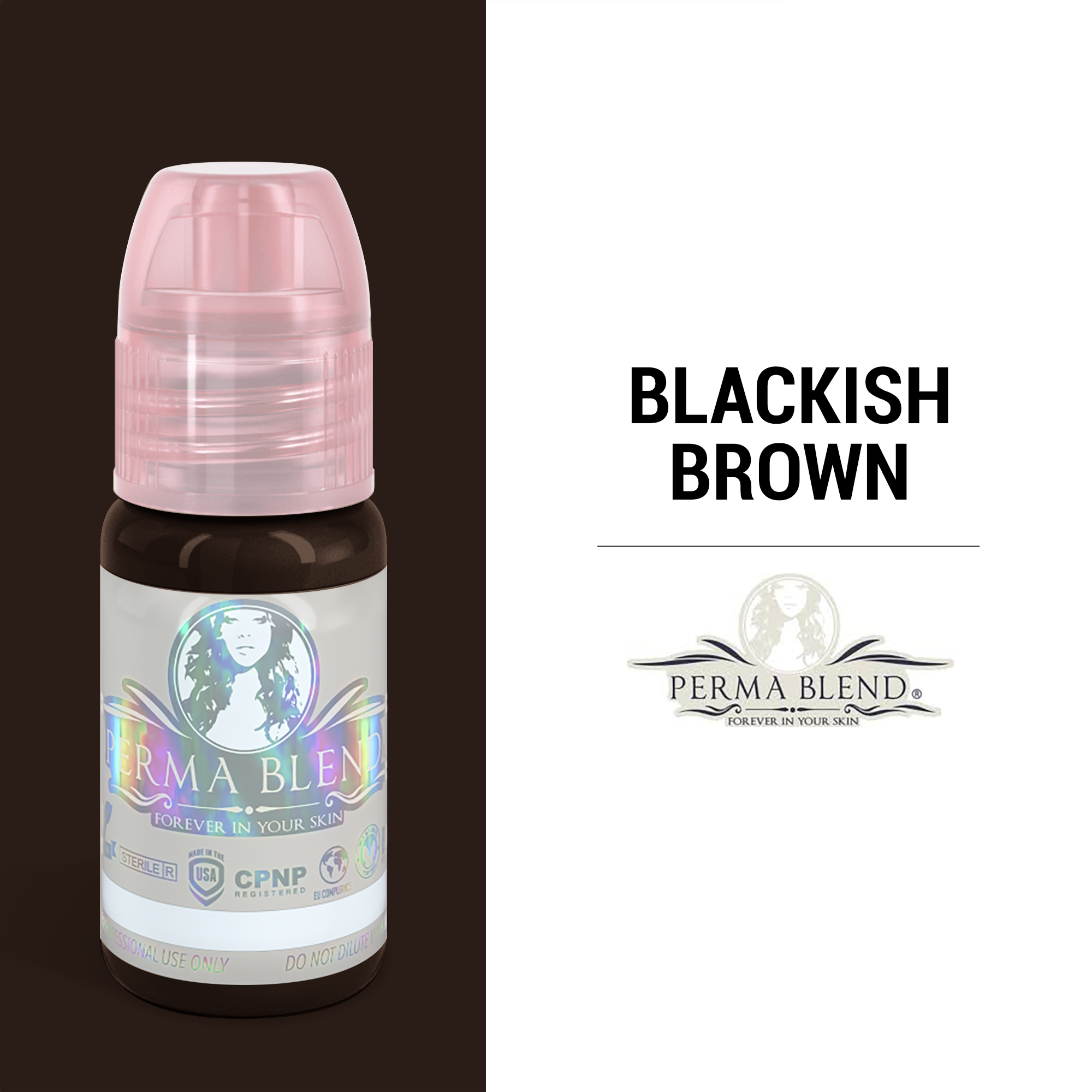 Perma Blend Blackish Brown - 1/2oz