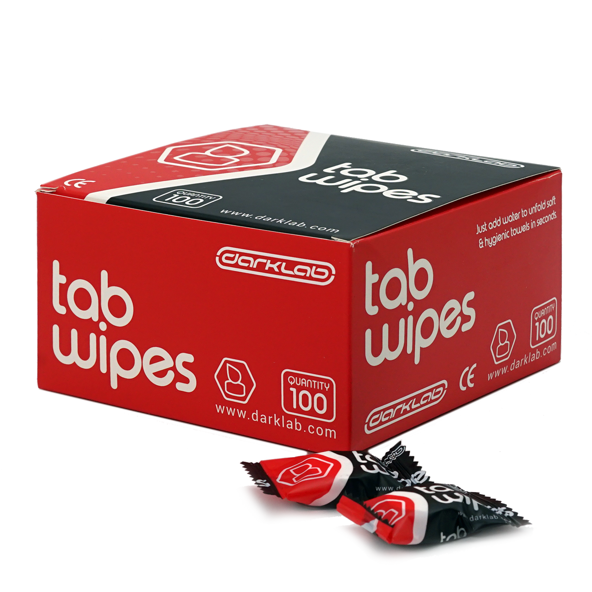 Tab Wipes (100 pc box)