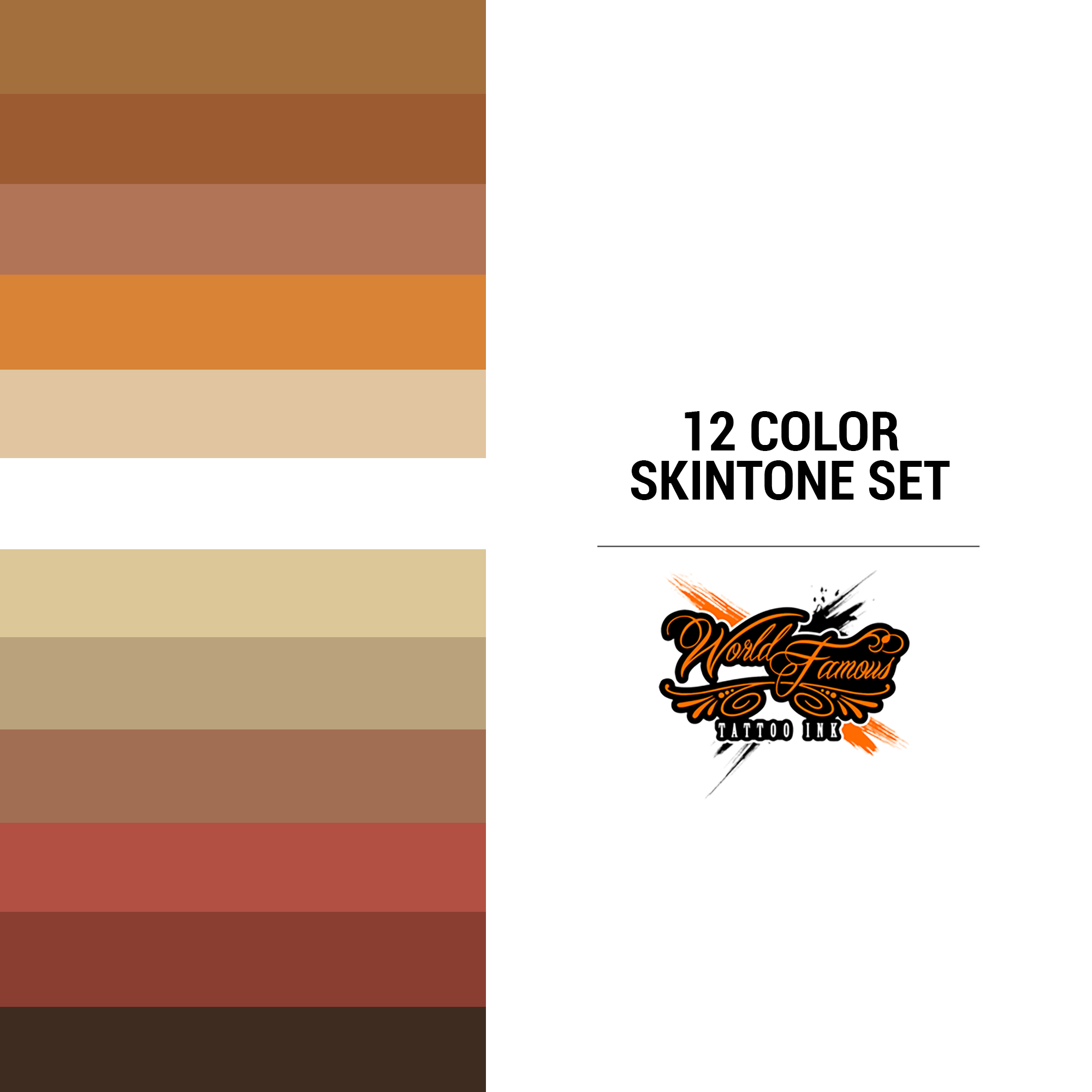 WF 12 Color Skintone Set 1 oz
