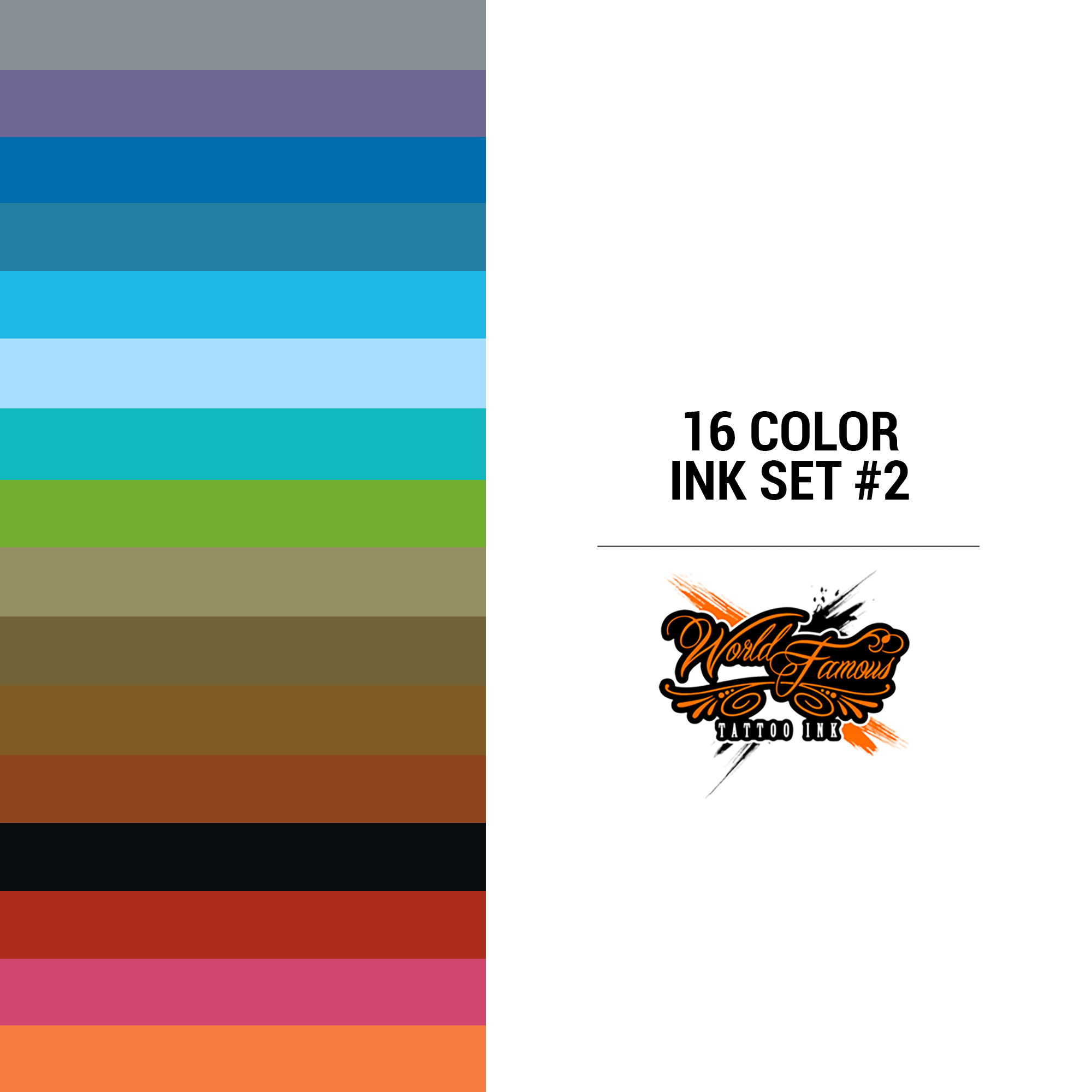 WF 16 Color Ink Set #2