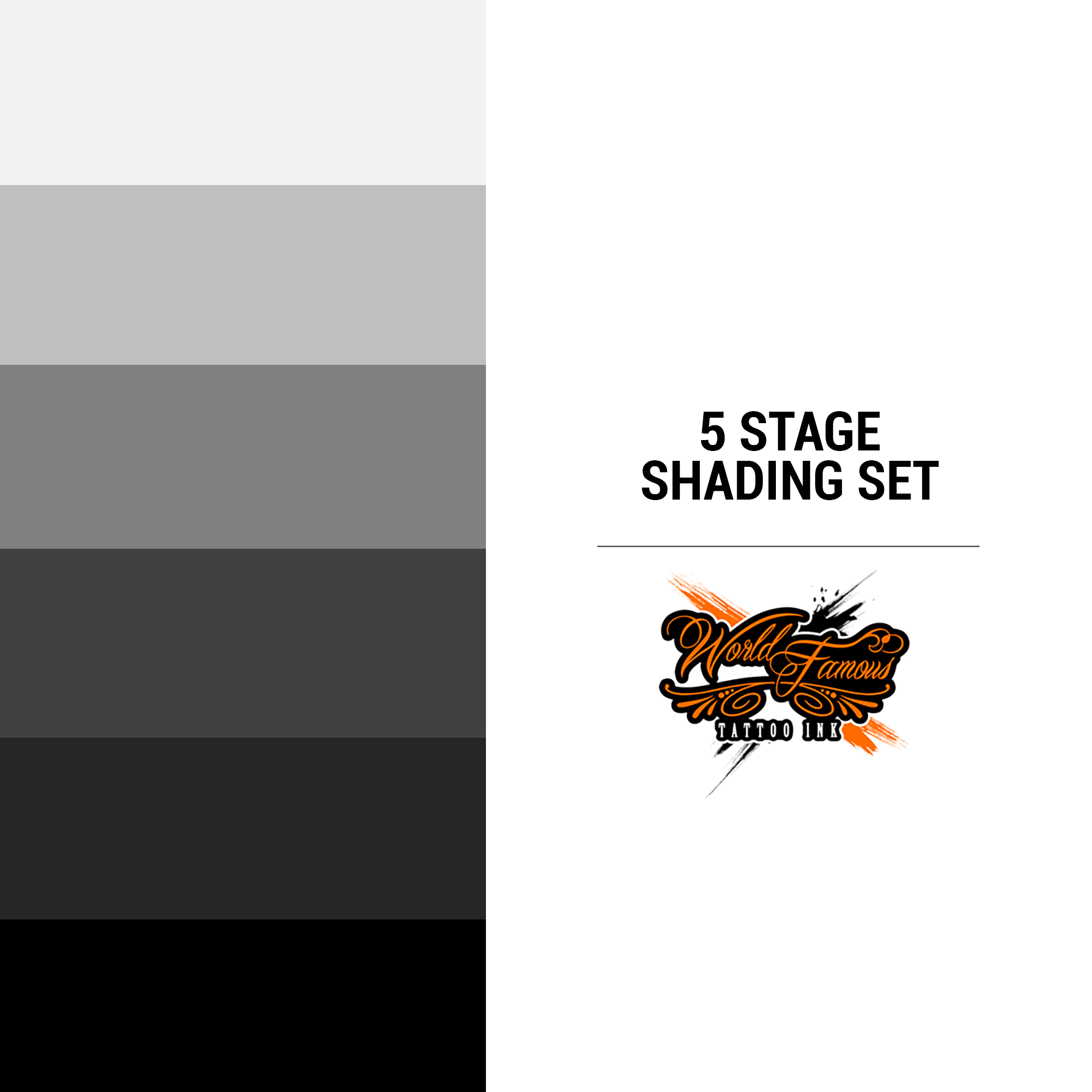 WF 5 Stage Shading Set