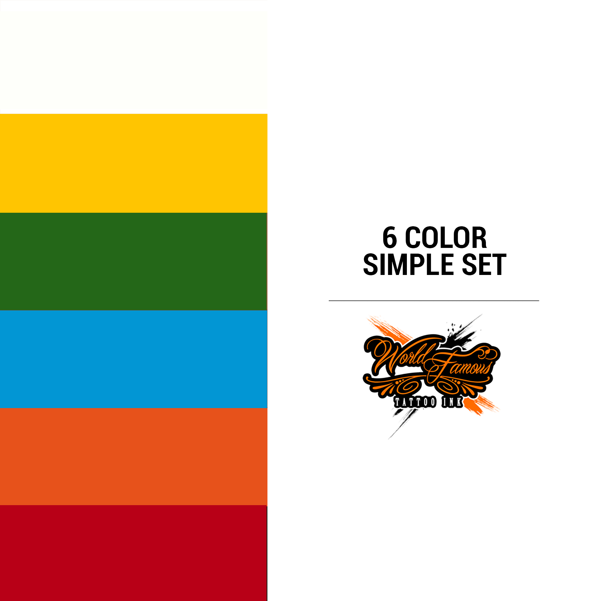WF 6 Color Simple Set