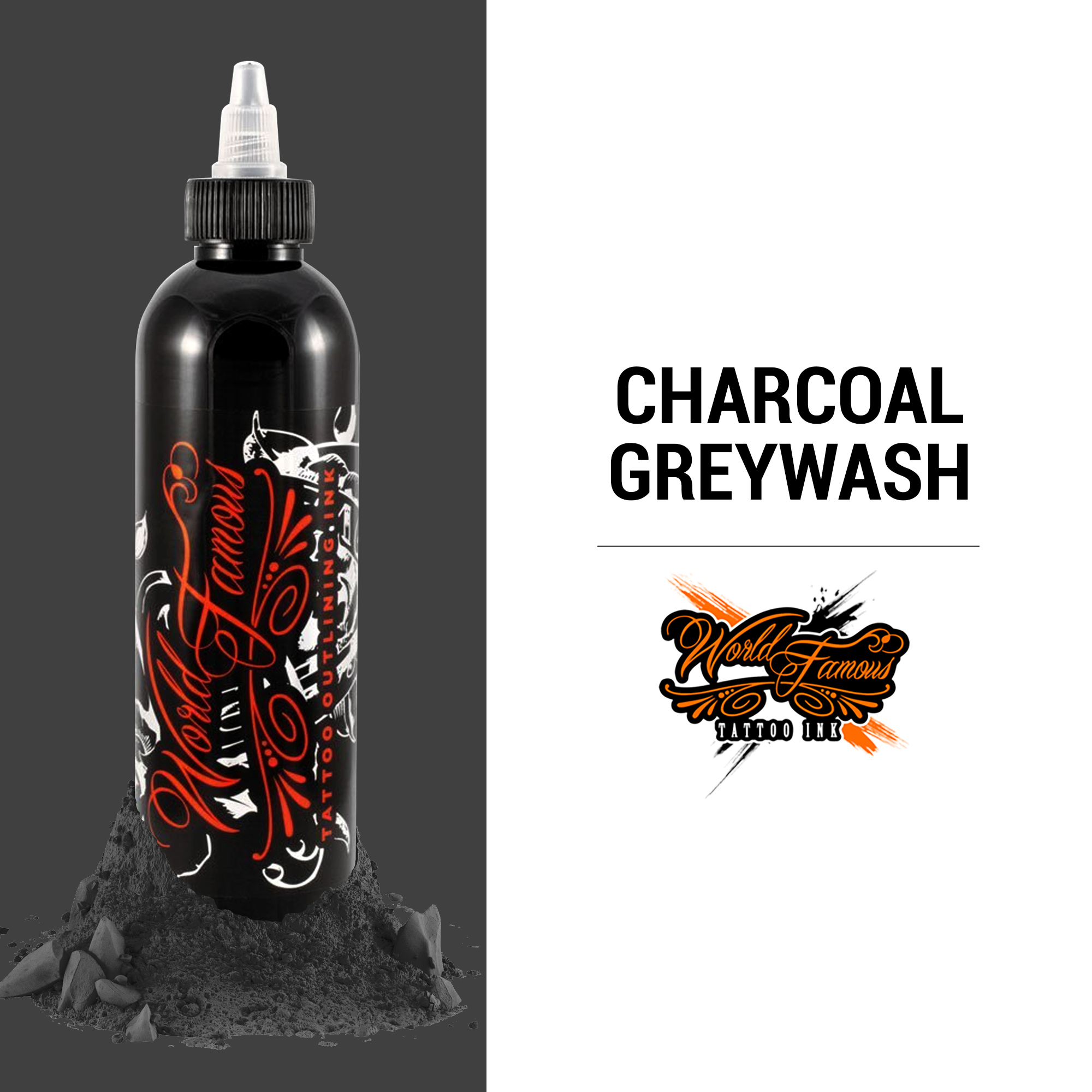 WF Charcoal Greywash 8 oz