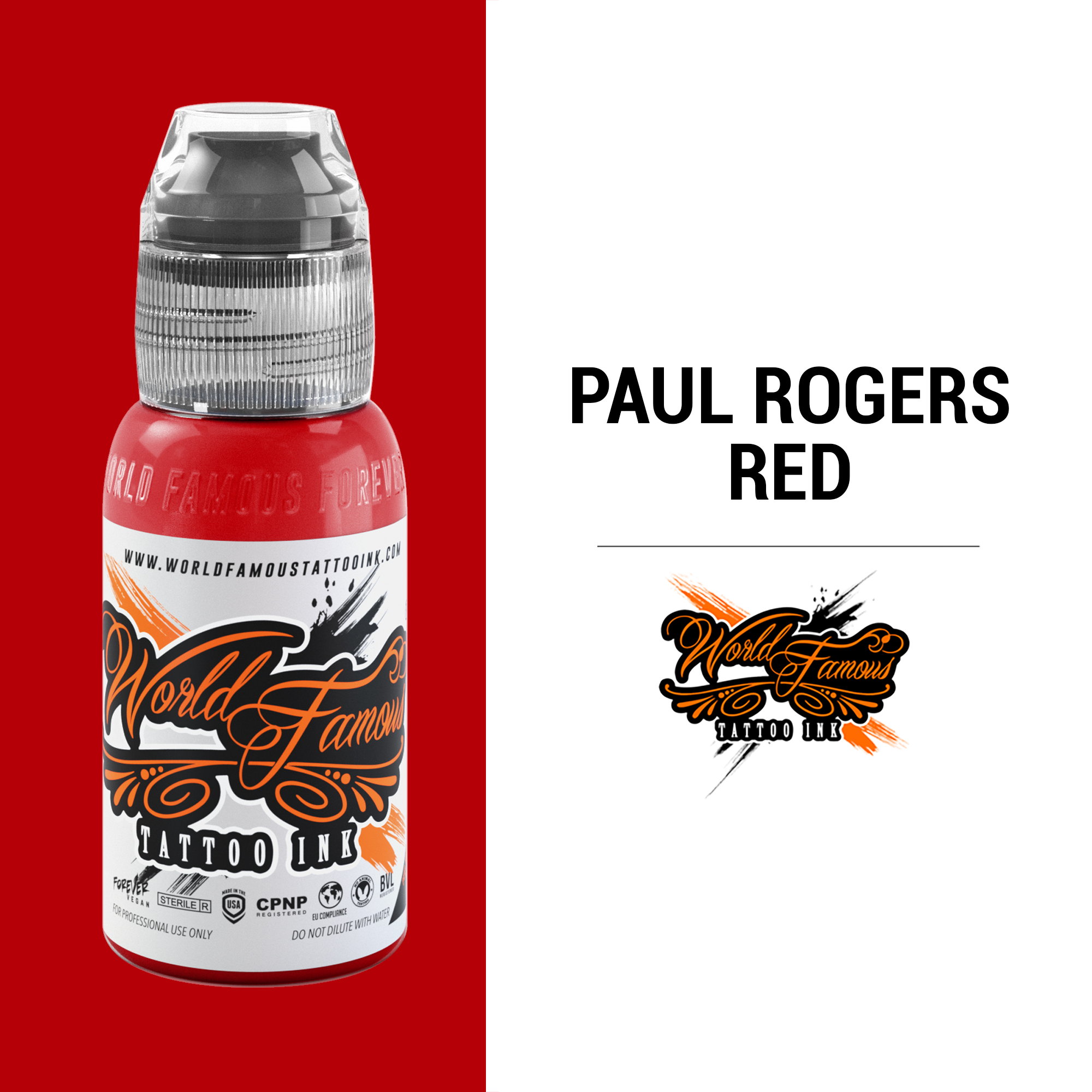 WF Paul Rogers Red