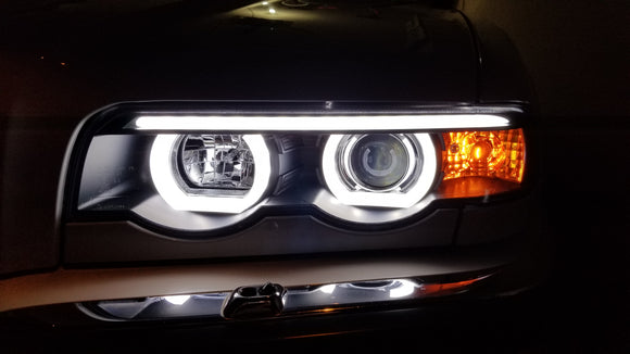 E38 LED Halo Projector Installed on Jeremiah's VIP Build