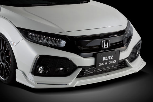 BLITZ FRONT LIP: CIVIC FK7 (UNPAINTED)
