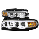 BMW 7-Series E38 LED Halo Projectors (95-01)