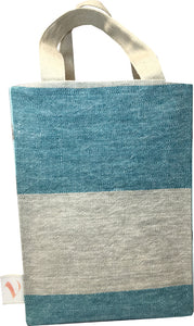 Back View - Ocean A4 Tote