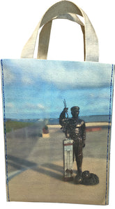 Front view - A4 Ocean Tote