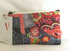 Midi Pouch - Bright Linen and Velvet