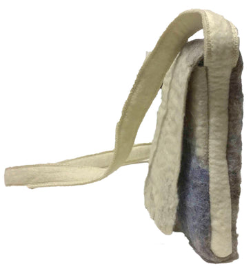 Artisan Felted Kublai Shoulder Pouch