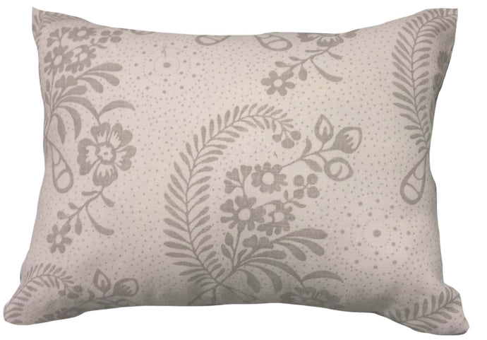 32 x 40cm Cushion Schumacher Linen  - Millicent in Grisaille