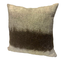 40cm x 40cm Cushion - Ombré Artisan Felted Wool