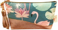 Pink Flamingoes Clutch