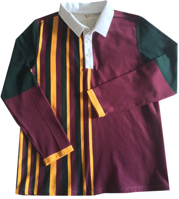 Jumble Tweeds - Vertical striped Rugby top 44
