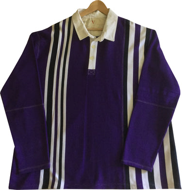 Jumble Tweeds - Vertical striped Rugby top 55 1/2