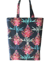 A4 Study Tote -Banksia Pink 100% cotton