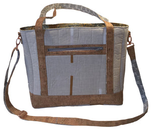 Cork & Linen Tudor Bag