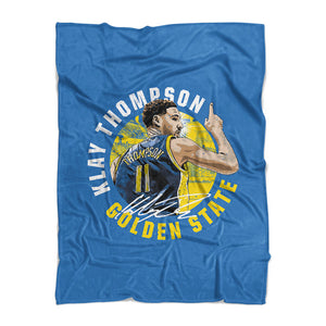 online retailer 0fffb 4a8fa Klay Thompson Golden State Pillows, Posters, and Blankets ...