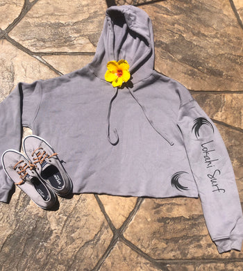 Women's Ultra Soft Cropped Surf Hoodie