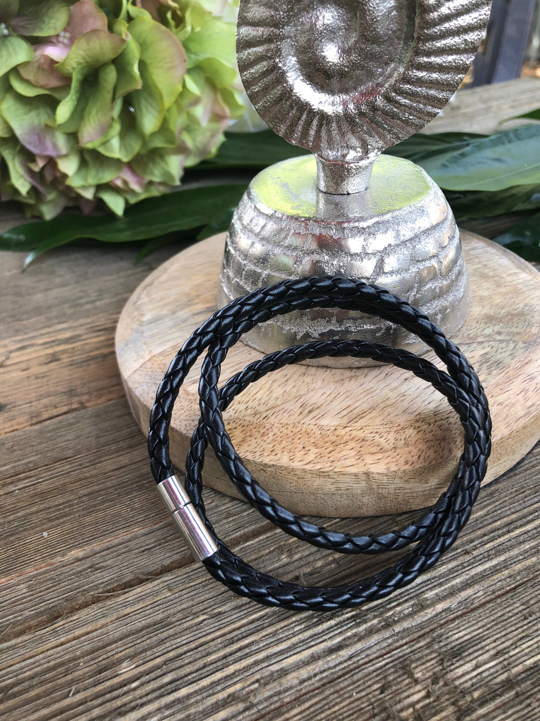 Men's/Women's Leather Wrap Bracelet