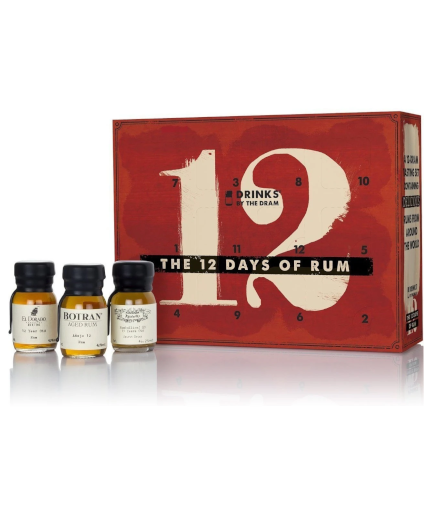 The 12 Days of Christmas - Rum Edition