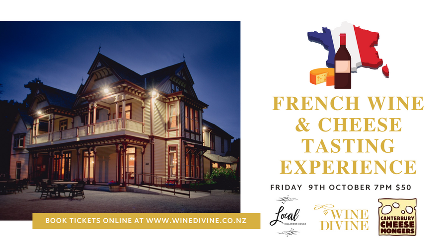 French Cheese & Wine Tasting Experience - 9th October