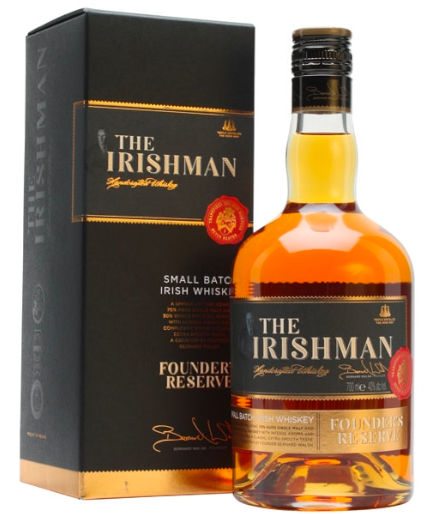 The Irishman Founders Reserve Whiskey