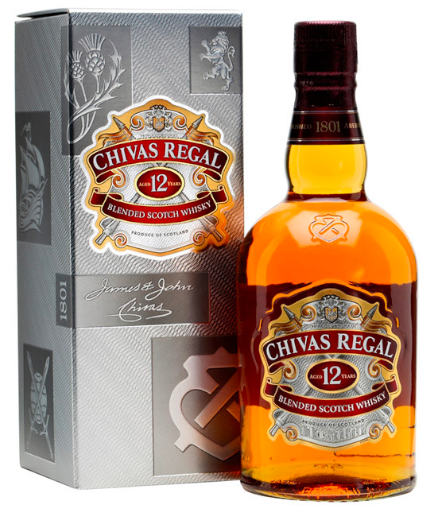 Chivas Regal 12 Blended Scotch