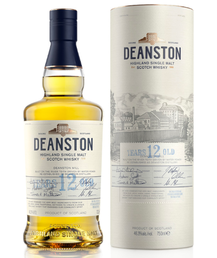 Deanston  12yo Highland Scotch Whisky
