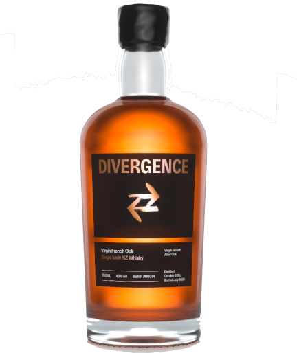 DIVERGENCE Single Malt NZ Whisky – Virgin French Oak