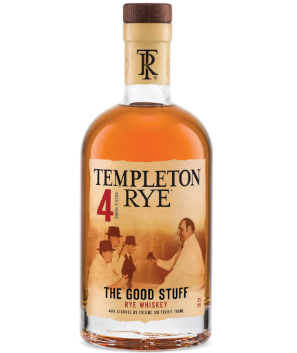 Templeton Rye Whiskey 4 Year Old 700ml