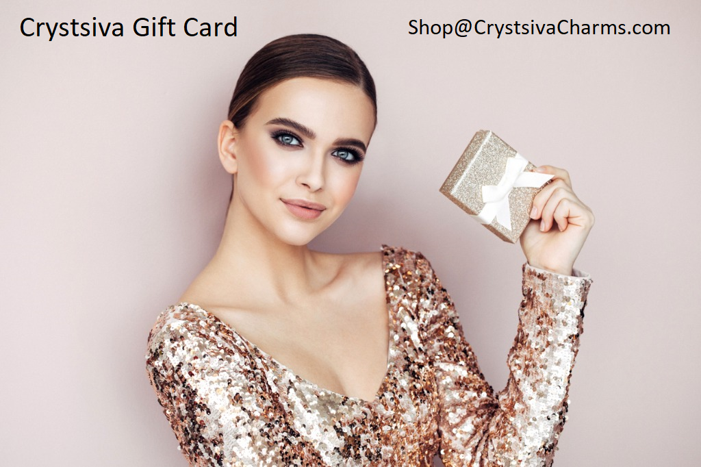 Crystsiva Charms Gift card