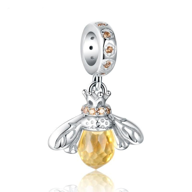 Honey Bee Dangle Charm