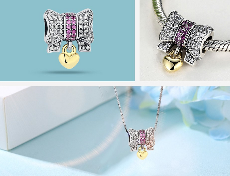 Wrapped Up Your Love with Bow Charm