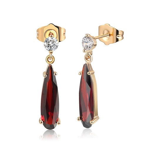 Elegant Autumn Drop Earrings