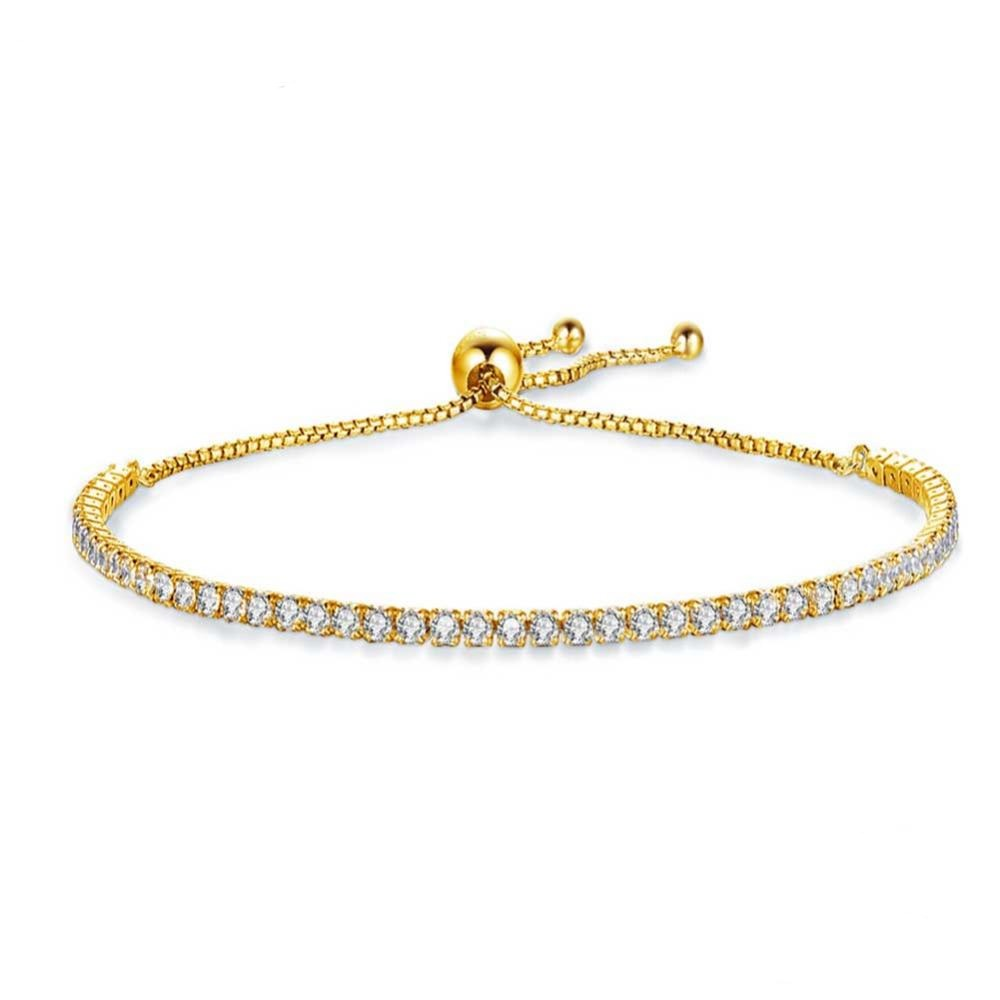Artemis Adjustable Tennis Bracelet