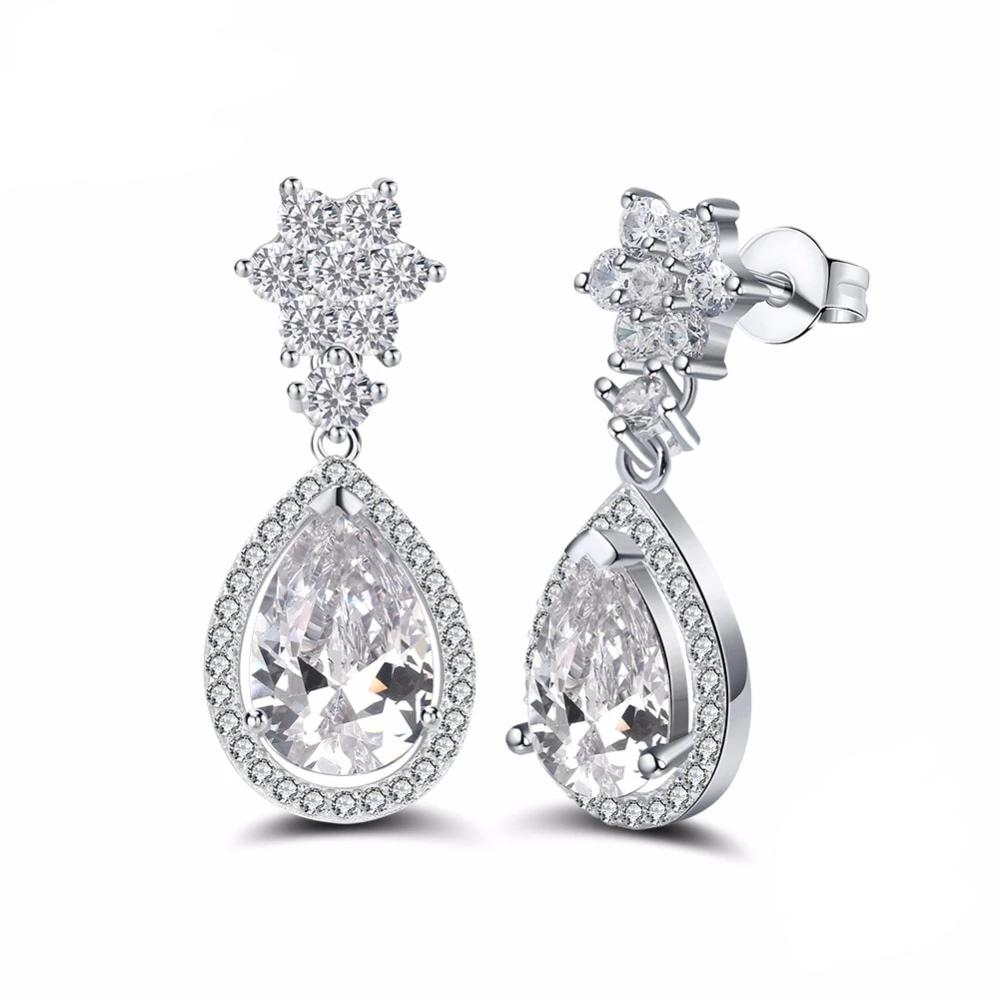 Luxe Classic Crystal Earrings