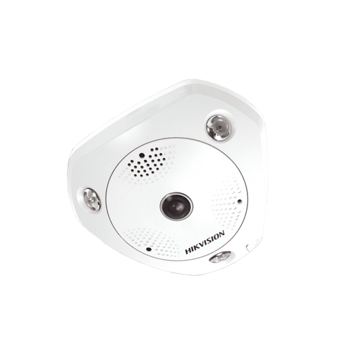 FISHEYE IP 3 MEGAPIXEL / INTERIOR / 180º /360º / 15M IR / WDR 120DB / PTZ DIGITAL / MICROSD / ONVIF / MICRÓFONO INTEGRADO-Cámaras IP-HIKVISION-DS-2CD6332FWD-IS-Bsai Seguridad & Controles