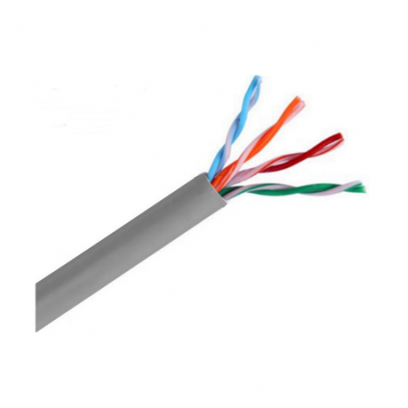 SAXXON OUTP5ECCA305G- CABLE UTP CCA/ CATEGORIA 5E
