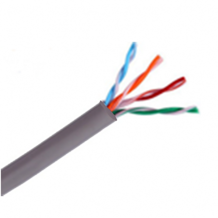 SAXXON OUTPCAT5E100M- CABLE UTP 100% COBRE/ CATEGORIA 5E/ COLOR GRIS-Cableado-SAXXON-TVD119046-Bsai Seguridad & Controles
