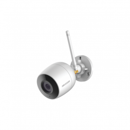 MINI BALA IP HIKVISION 2MP WIFI / 30 MTS IR / EXTERIOR IP66 / DWDR-Cámaras IP-HIKVISION-DS-2CD2023G0D-IW2-Bsai Seguridad & Controles