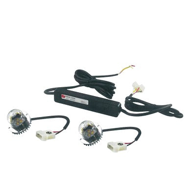 KIT CORNERLED 1 PAR DE LáMPARAS LED COLOR CLARO-Estrobos/Giratorias-FEDERAL SIGNAL-416-200-55-Bsai Seguridad & Controles