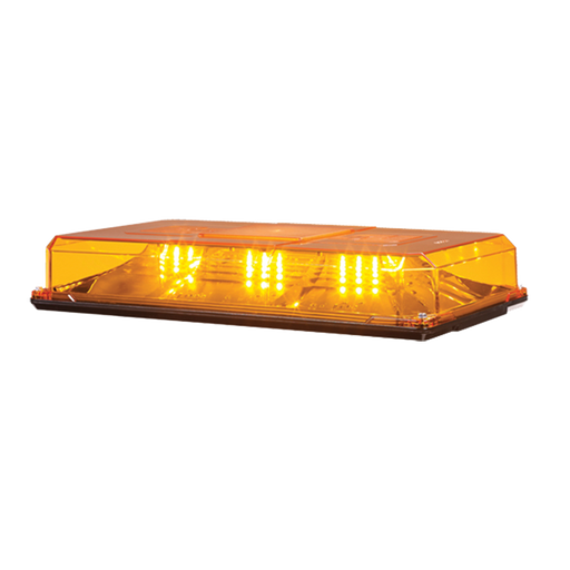 MINI BARRA DE LUCES HIGHLIGHTER LED, COLOR ÁMBAR, MONTAJE PERMANENTE, IDEAL PARA SEGURIDAD PRIVADA-Torretas-FEDERAL SIGNAL-454-101-HL02-Bsai Seguridad & Controles