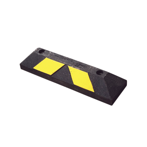 TOPE DE ESTACIONAMIENTO HOME PARK IT 56 CM COLOR NEGRO-AMARILO-Topes y Reductores-GNR-13190-H-Bsai Seguridad & Controles